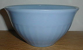 "Jeannette 8"" Delphite Ribbed Mixing Bowl"