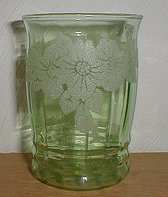 "Green DOGWOOD 4"" 10 oz. Tumbler"