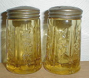 Amber SHARON Salt & Pepper Shakers