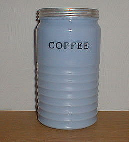 Jeannette Delphite 40 oz. COFFEE CANISTER