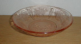 "Pink SHARON 6"" Cereal Bowl"