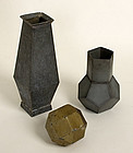 Geometric Tin Forms: Circa 1920