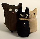 Sock Cats: Circa 1930