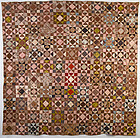 Variable Stars Quilt: Circa 1830; Pennsylvania