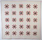 Variable Stars Quilt: Circa 1850; Pennsylvania