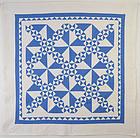 Pinwheels Quilt: Circa 1920; Pennsylvania