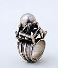 Silver Ring by Rachel Gera