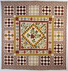 Center Medallion Quilt: Circa 1860; Pennsylvania