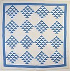 Wild Geese Quilt: Circa 1920; Pa.