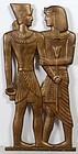 Sculpture of Egyptian Figures