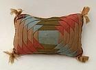 Log Cabin Pin Cushion: Circa 1`870: pa.