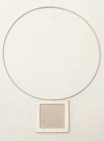 Agnes Seebass Silver Necklace
