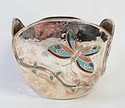 Emilia Castillo Silverplated Bowl with Butterflies