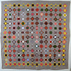 Economy Patch Quilt: Ca. 1880; Pa.