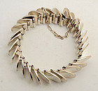 Sterling Silver Scales Bracelet