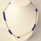 Betty Cooke silver and Lapis Lazuli Necklace