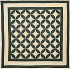 Melon Patch Quilt: Circa 1870; Pennsylvania