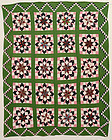 Carpenter's Wheel Quilt: Ca: 1860; Pennsylvania
