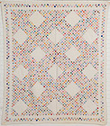 Irish Chain Quilt: Circa 1930; Pennsylvania