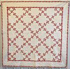 Pinwheels Quilt: Circa 1880; Pennsylvania
