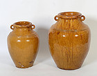 French Terra Cotta Jugs
