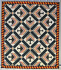 Pine Tree Quilt: Circa 1880; West Virginia