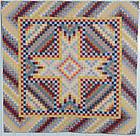Bowmansville Star Quilt: Circa 1880's; Pennsylvania