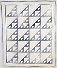 Birds in the Air Quilt: Circa 1880; Pennsylvania