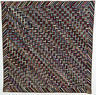 Fence Rail Log Cabin Quilt: Circa 1890; Pennsylvania