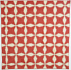 Pineapple Log Cabin Quilt: Circa 1880; Pennsylvania