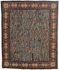 Large Abstract Hooked Rug: Circa 1930; Pennsylvania