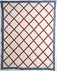Latticework Quilt: Circa 1860