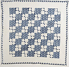 Four Patch Quilt: Circa 1850; Pennsylvania