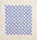 Bowtie Crib Quilt: Circa 1930; Pennsylvania
