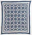 Old Italian Block Quilt: Circa 1880