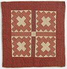 Album Patch Doll Quilt: Circa 1880; Pennsylvania