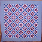 Amish Philadelphia Pavement Quilt; Ca. 1930