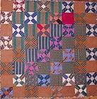 Wool Crossroads Quilt: Circa 1870