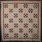 Bear's Paw Quilt: Circa 1870; Maryland