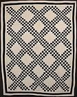 Irish Chain Quilt: Circa 1880; Pennsylvania