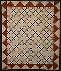 Nine Patch Quilt: Circa 1870; Pennsylvania