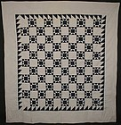Evening Stars Quilt: Circa 1870; Pennsylvania