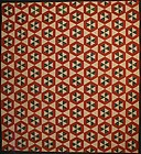 Double Hexagons Quilt: Circa 1860; Pennsylvania