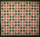 Four Baskets Quilt: Circa 1880; Pennsylvania