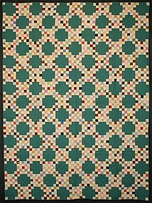 Pair of Twenty Five Patch Quilts: Ca. 1930; Pa.