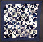Lady of the Lake Quilt: Circa 1880; Ohio