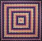Trip Around the World Quilt: Circa 1890; Pennsylvania
