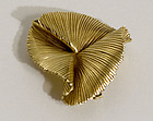 Tiffany 14 Karat Gold Brooch
