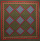 Mennonite Philadelphia Pavement Quilt: Ca.1880; Pa.