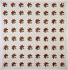 Maple Leaf Quilt: Circa 1860; Pennsylvania